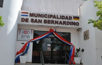 Municipalidad de San Bernardino. (Foto de archivo).