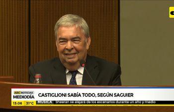 Castiglioni sabía todo, según Saguier