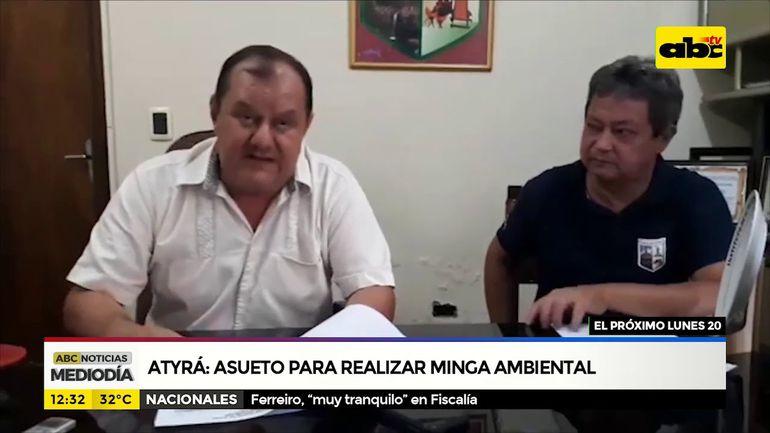Atyrá declara asueto para realizar minga ambiental