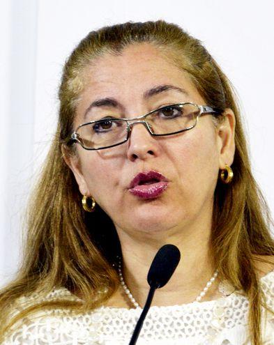 Patricia Stanley, extitular de Dinapi, durante cuya administración se habrían producido varias irregularidades.