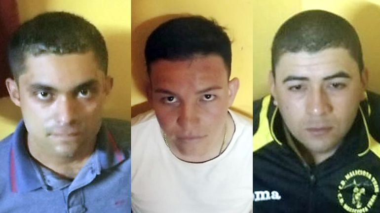 Sicarios detenidos por asesinato en Yby Yaú.