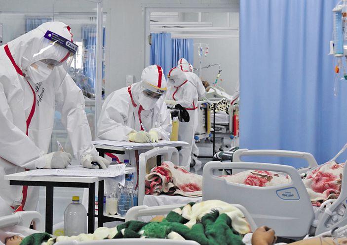 Crece nuevamente la cifra de internados por coronavirus.