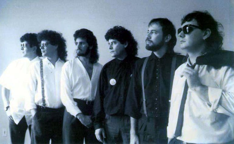 Luis Álvarez, Nene Salerno, Emilio García, Víctor Destéfano, Tommy Centurión y Cachito Verdecchia.
