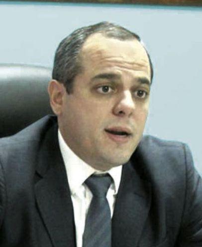 Camilo Benítez, contralor general de la República, quien planteó algunas modificaciones al proyecto de ley.