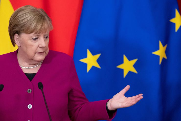 La canciller alemana Ángela Merkel.
