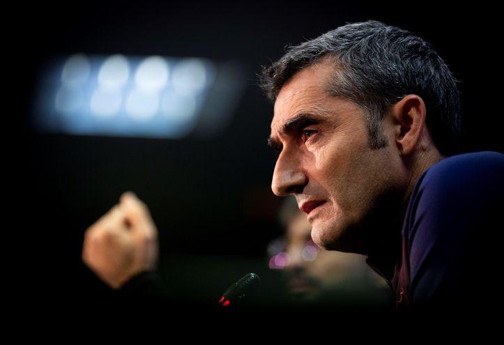 Ernesto Valcerde, entrenador del Barcelona.