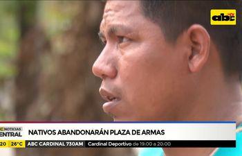 Nativos abandonarán plaza de Armas