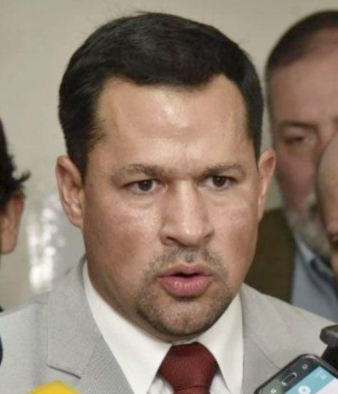 Ulises Quintana, diputado acusado (ANR, HC). El Gobierno de EE.UU. lo declaró significativamente corrupto.