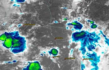 Boquerón, Presidente Hayes y San Pedro se verán afectados por el clima severo.