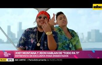 """Joey Montanta Y Jeon hablan de """"Todo Pa' Ti"""""""