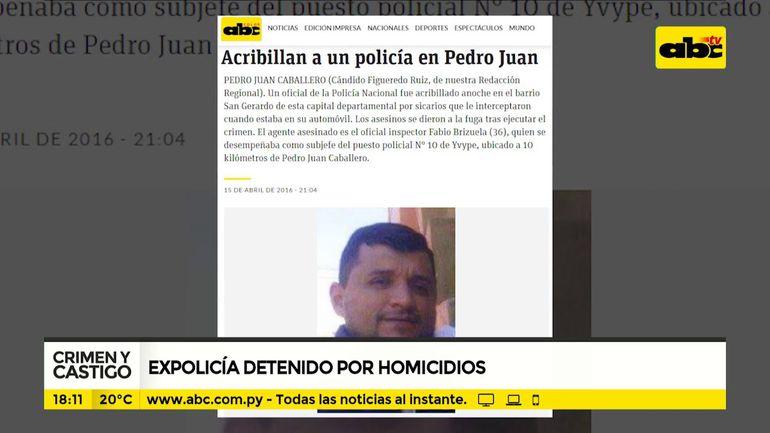 Detienen a ex policía homicida