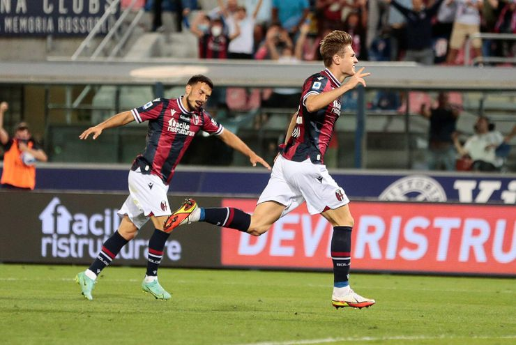 El Bologna ganó 1-0 al Hellas Verona.