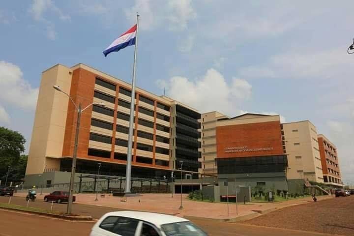 La condena fue dictada en el Palacio de Justicia de Ciudad del Este.