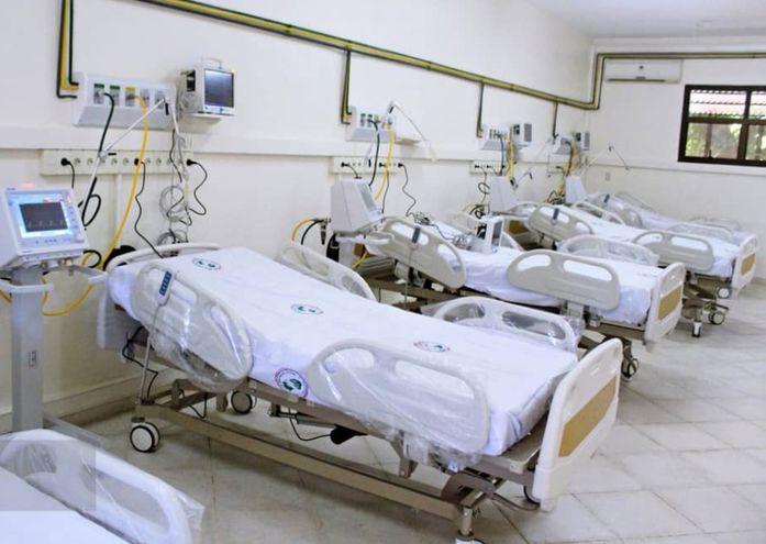 Sala de UTI   del Hospital Regional de IPS de Pilar.