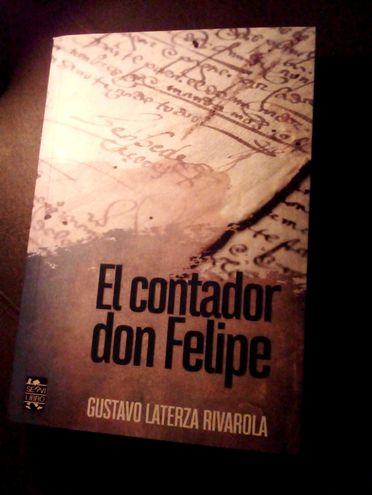"""""""El contador don Felipe"""", de Gustavo Laterza Rivarola."""
