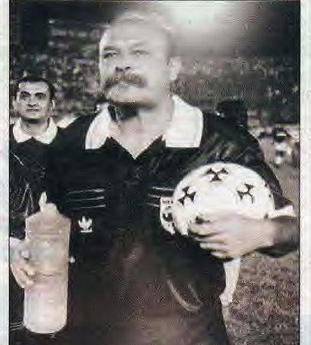Juan Francisco, en su último partido, un clásico de 1-1, 1994.