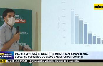 Paraguay está cerca de controlar la pandemia