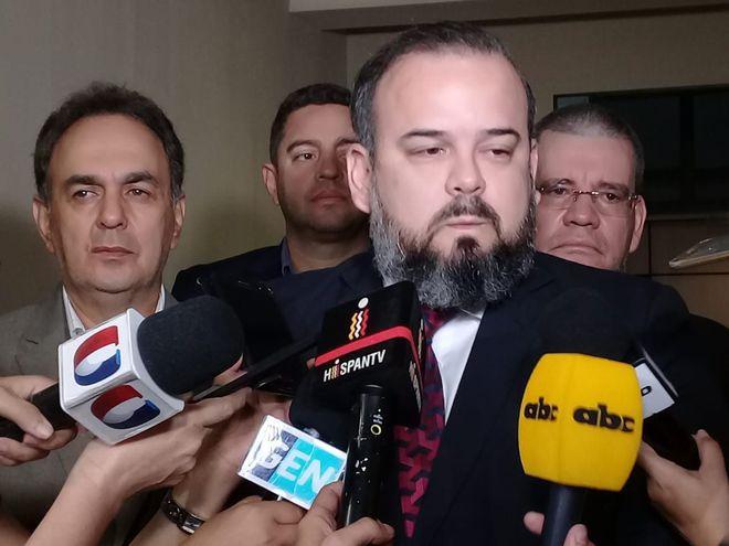 Ariel Martínez, directivo de Cerro Porteño.