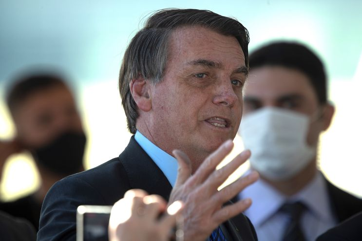 En la imagen, el presidente de Brasil, Jair Bolsonaro.