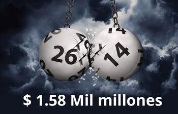 Esta vez el premio es de 1.580 millones de dólares.