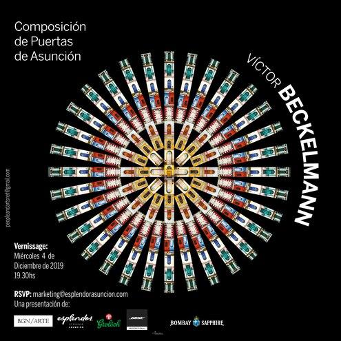 Afiche de la muestra de Víctor Beckelmann.