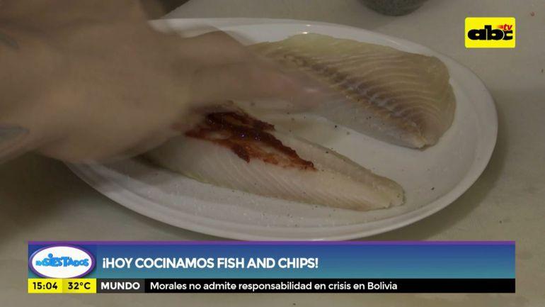 ¡Hoy cocinamos fish and chips!