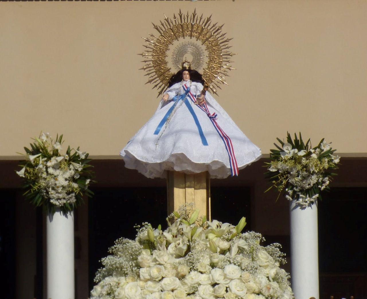 celebración religiosa en homenaje a la Santa Patrona Señora de Pilar