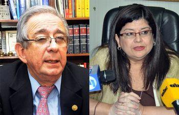 Raúl Torres Kirmser y Carolina Llanes.