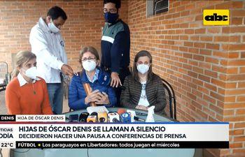 Hijas del secuestrado Óscar Denis se llaman a silencio