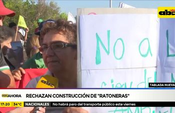 Tablada Nueva: Rechazan construcción de ratoneras