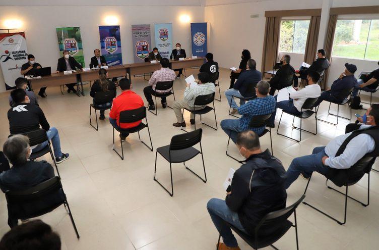 La reunión se hizo en la sede la UFI.