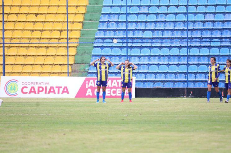 Con el triunfo, el Deportivo Capiatá dejó los puntos en casa.