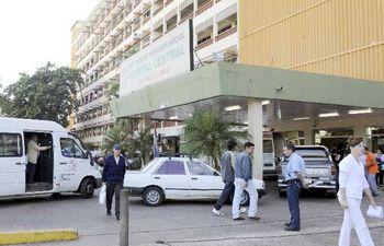 Instituto de Previsión Social (IPS) (Foto de archivo).