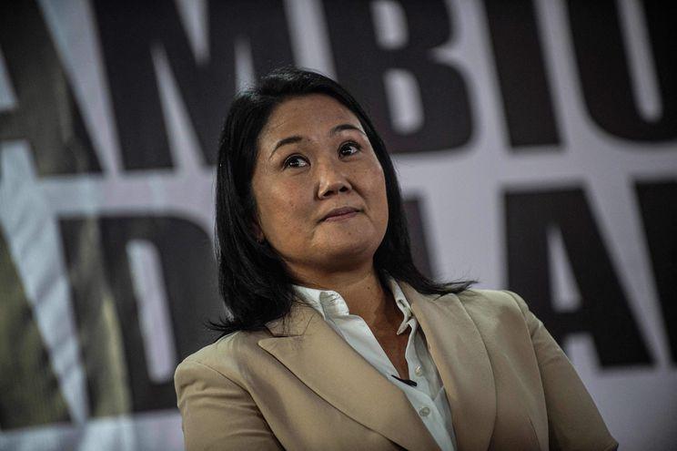 La candidata presidencial peruana Keiko Fujimori.