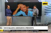 Sicarios matan a balazos a periodista en PJC