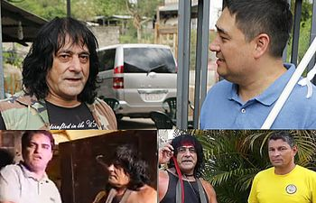 Rambo Paraguayo y candidatos