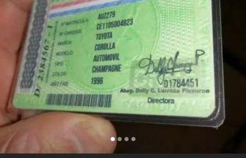 En páginas de Facebook ofrecen por 250.000 guaraníes la supuesta recuperación cédulas verdes.