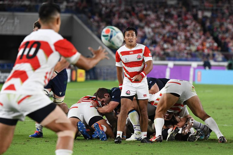 Japón, Mundial de Rugby.
