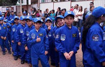 Paraguay en el espacio,