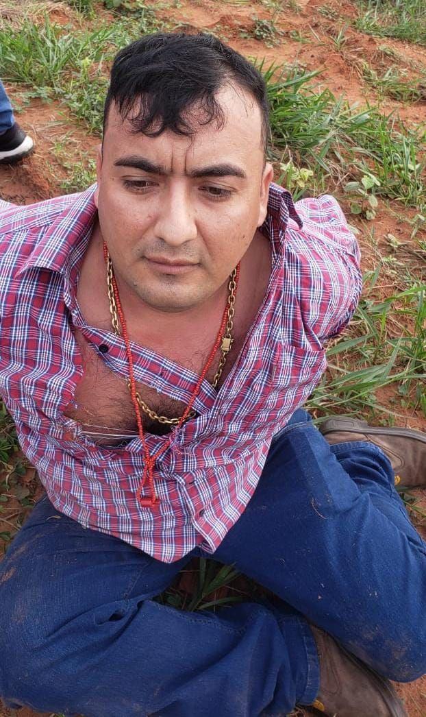 Rodrigo Pedrozo, alias Kavajú, detenido en Operativo Horse