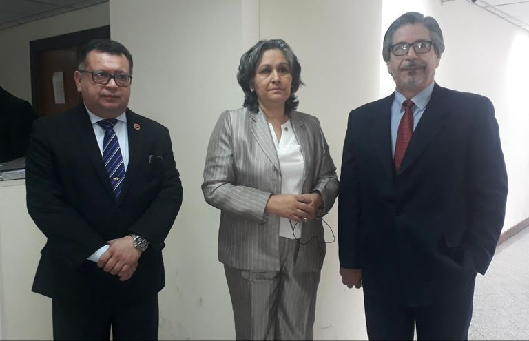 Aniceto Amarilla, Miryan Meza e Isidro González Sánchez, camaristas cuestionados en Ciudad del Este.