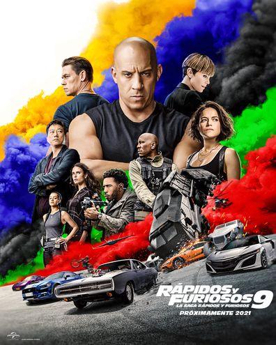"""""""Rápidos y Furiosos 9"""" estrenará en Paraguay el próximo 24 de junio, por lo que varios cines ya pusieron a la venta las entradas, de manera a incenvitar a la gente a ir al cine de forma segura."""