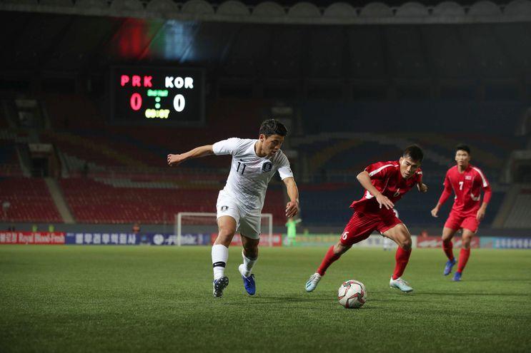 Corea del Norte, Corea del Sur, Eliminatorias, Asia.
