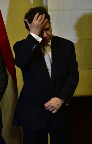 Euclides Acevedo juró esta tarde como nuevo ministro del Interior.