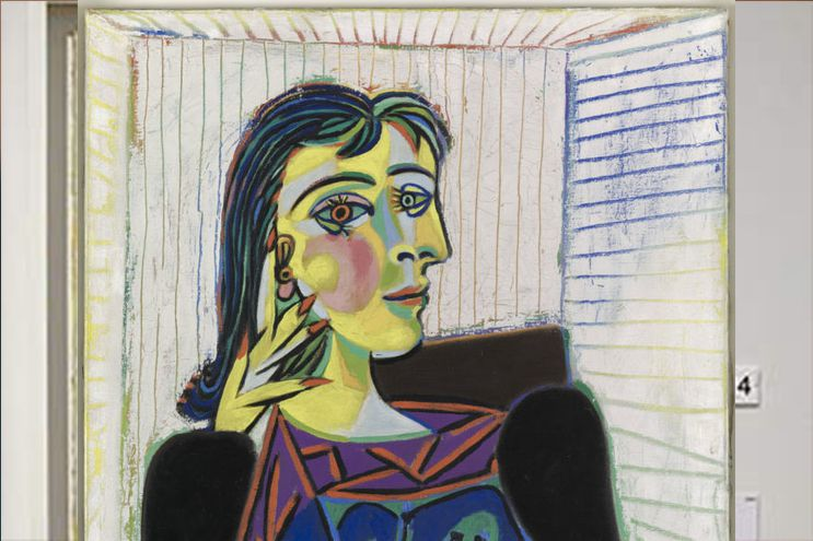 Una pintura del célebre artista español, Pablo Picasso.