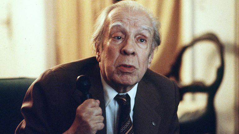 El escritor Jorge Luis Borges.