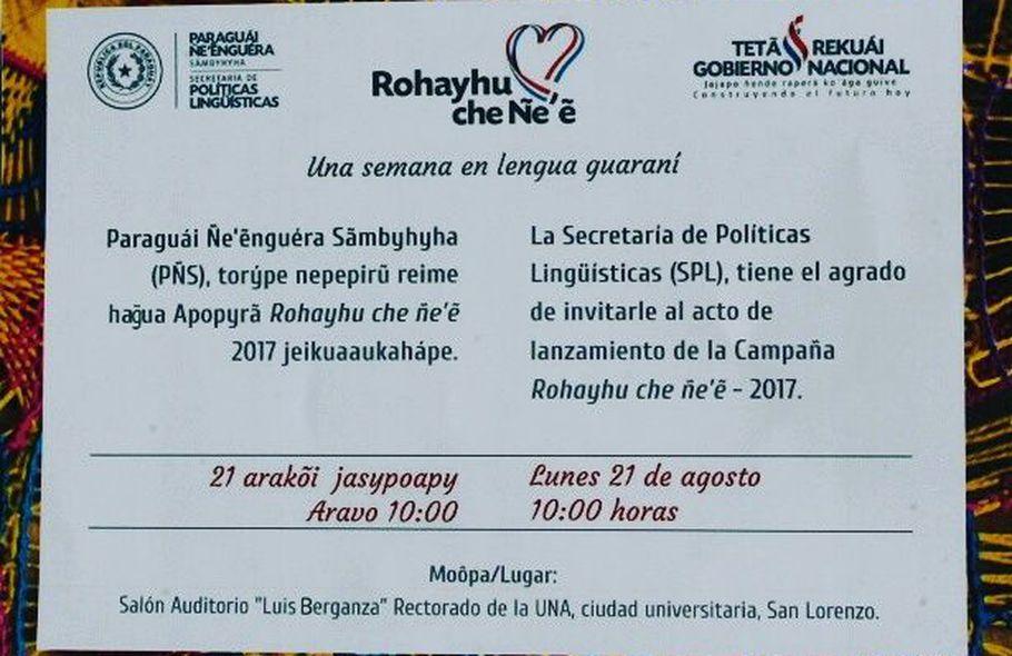 Invitan A Hablar En Guaraní Esta Semana Nacionales Abc Color