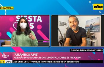 """Diego Torres nos habla en exclusiva sobre su último disco """"Atlántico a pie"""""""