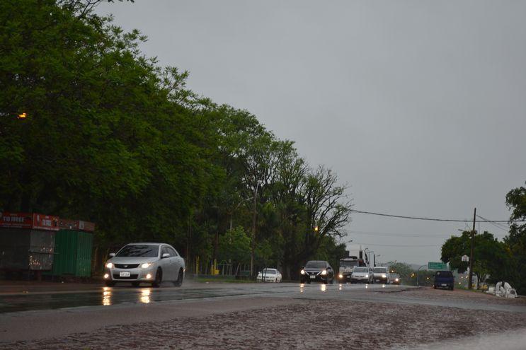 La lluvia ayudará al agro en el  sur.