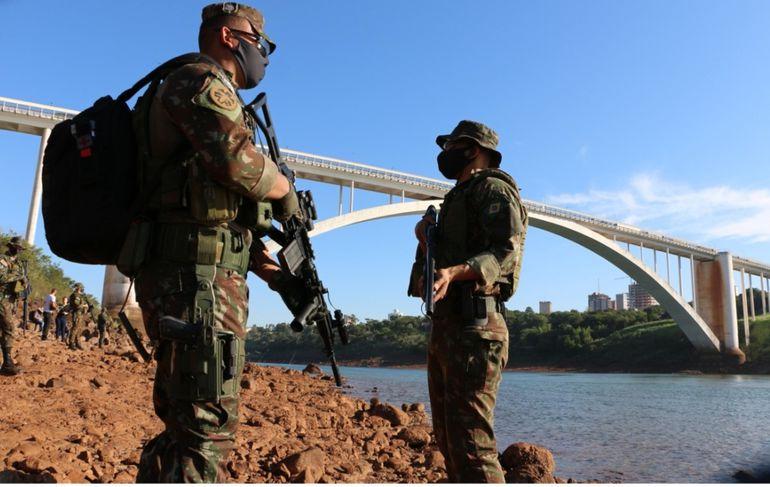 Pese a los controles en la frontera se reportan ingresos ilegales de compatriotas desde Brasil.